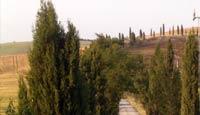 Typische Umgebung in Toskana im Chianti